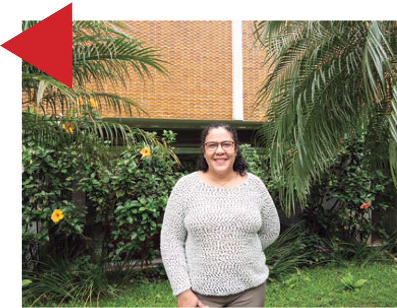 Síndica Vanilda de Carvalho